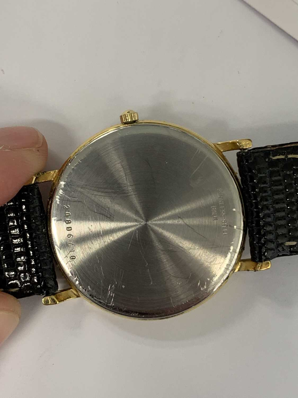 A Gentleman's gold plated Longines Presence quartz wristwatch - Image 3 of 6