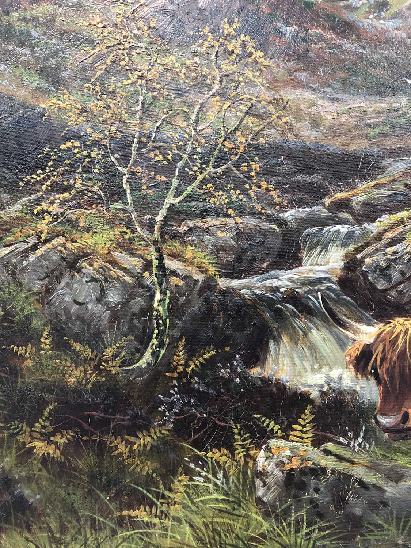 Albert Dunnington (1860-1928) The Road to Lochranza, Arran - Image 8 of 11