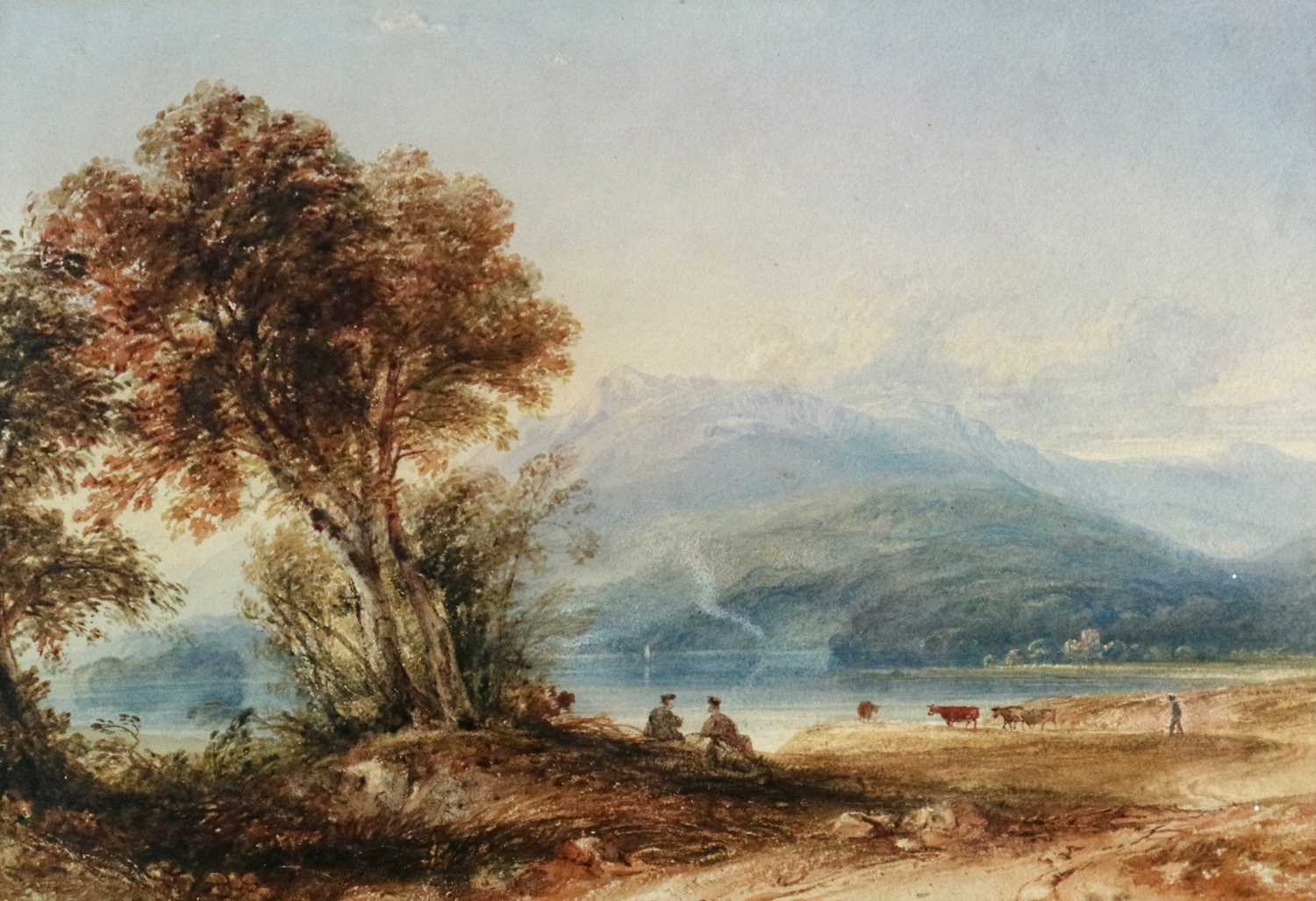 Anthony Vandyke Copley Fielding RWS (1787-1855) Two Landscapes inc. Windermere - Image 2 of 6