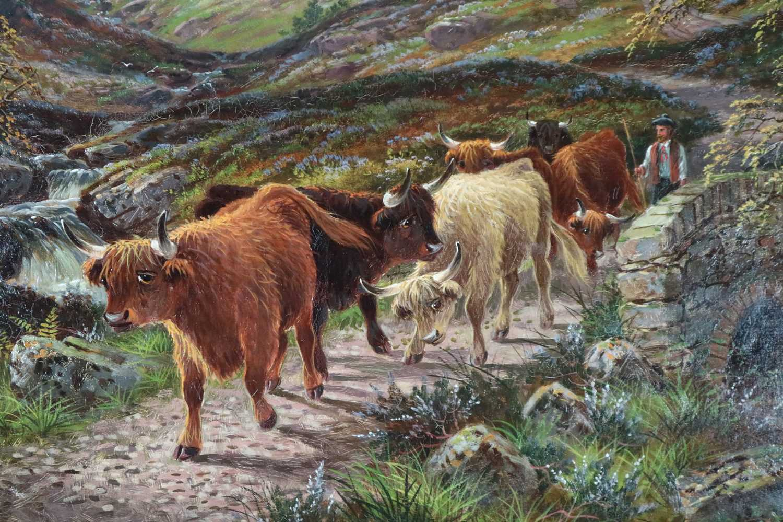 Albert Dunnington (1860-1928) The Road to Lochranza, Arran - Image 3 of 11