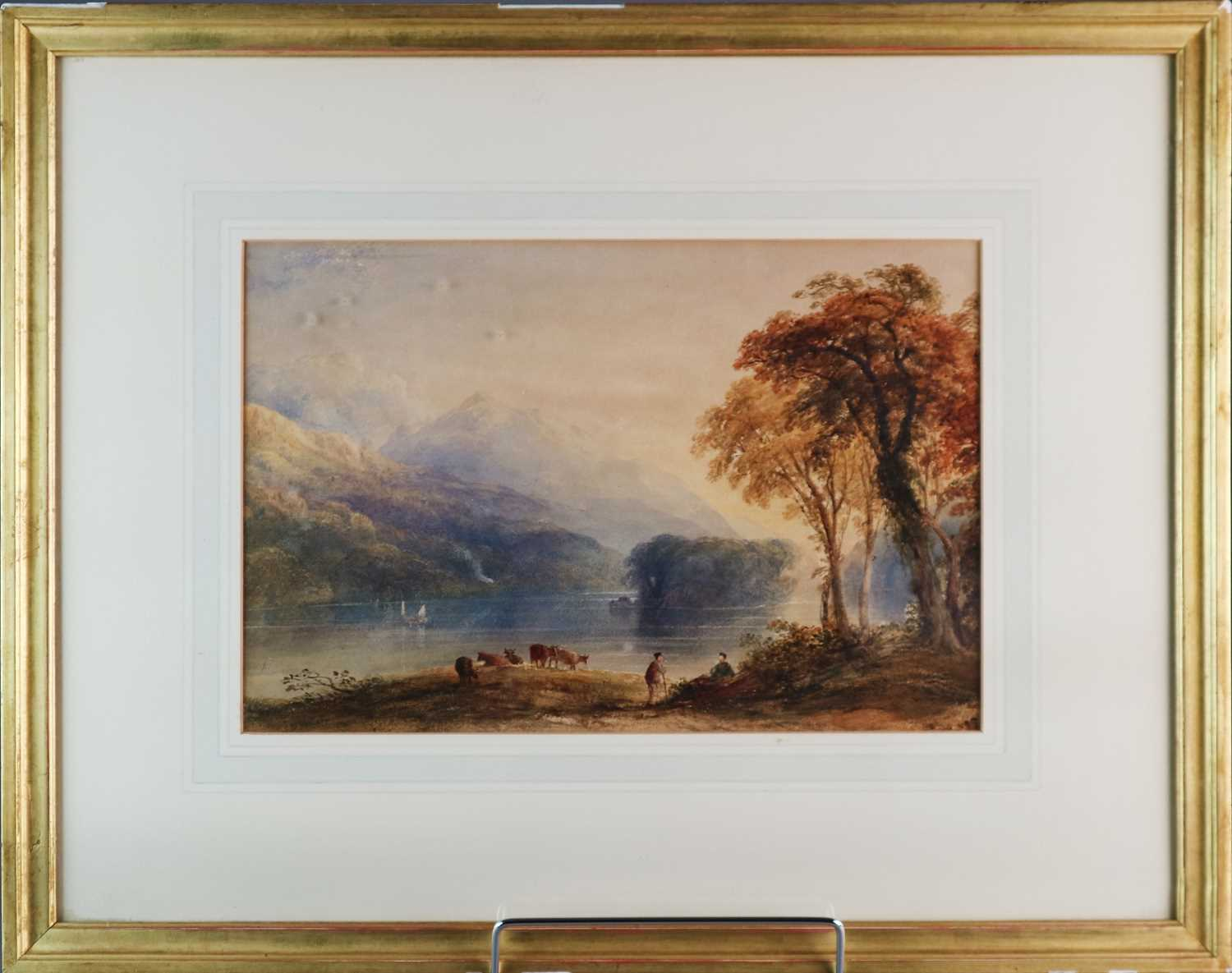 Anthony Vandyke Copley Fielding RWS (1787-1855) Two Landscapes inc. Windermere - Image 3 of 6