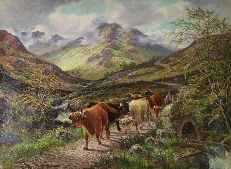 Albert Dunnington (1860-1928) The Road to Lochranza, Arran