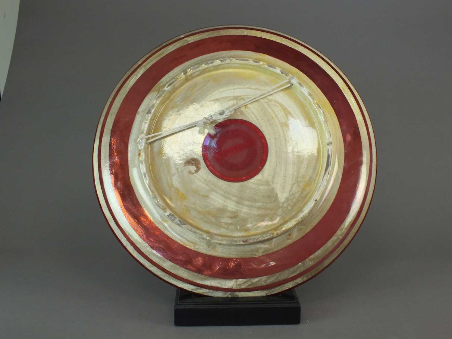 A Maw and Co ruby lustre galleon charger, circa 1880 - Image 2 of 6