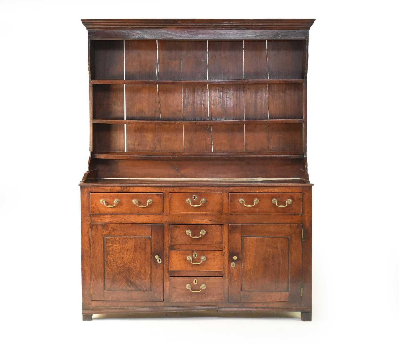 A good, George III oak dresser, North Wales