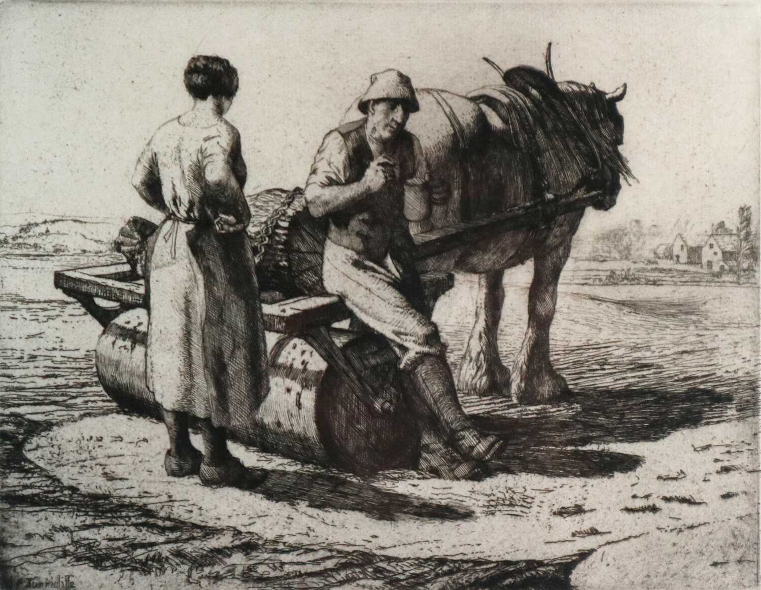 Charles Frederick Tunnicliffe OBE RA (1901-1979) The Seed Roller
