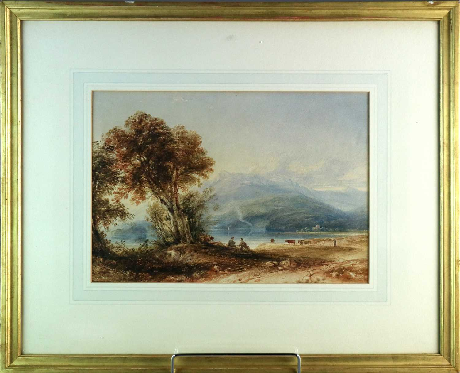 Anthony Vandyke Copley Fielding RWS (1787-1855) Two Landscapes inc. Windermere - Image 4 of 6