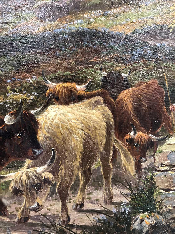 Albert Dunnington (1860-1928) The Road to Lochranza, Arran - Image 9 of 11