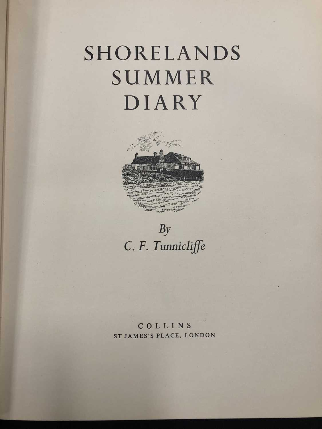 Charles Frederick Tunnicliffe OBE RA (1900-1979) Shorelands Summer Diary - Image 7 of 11