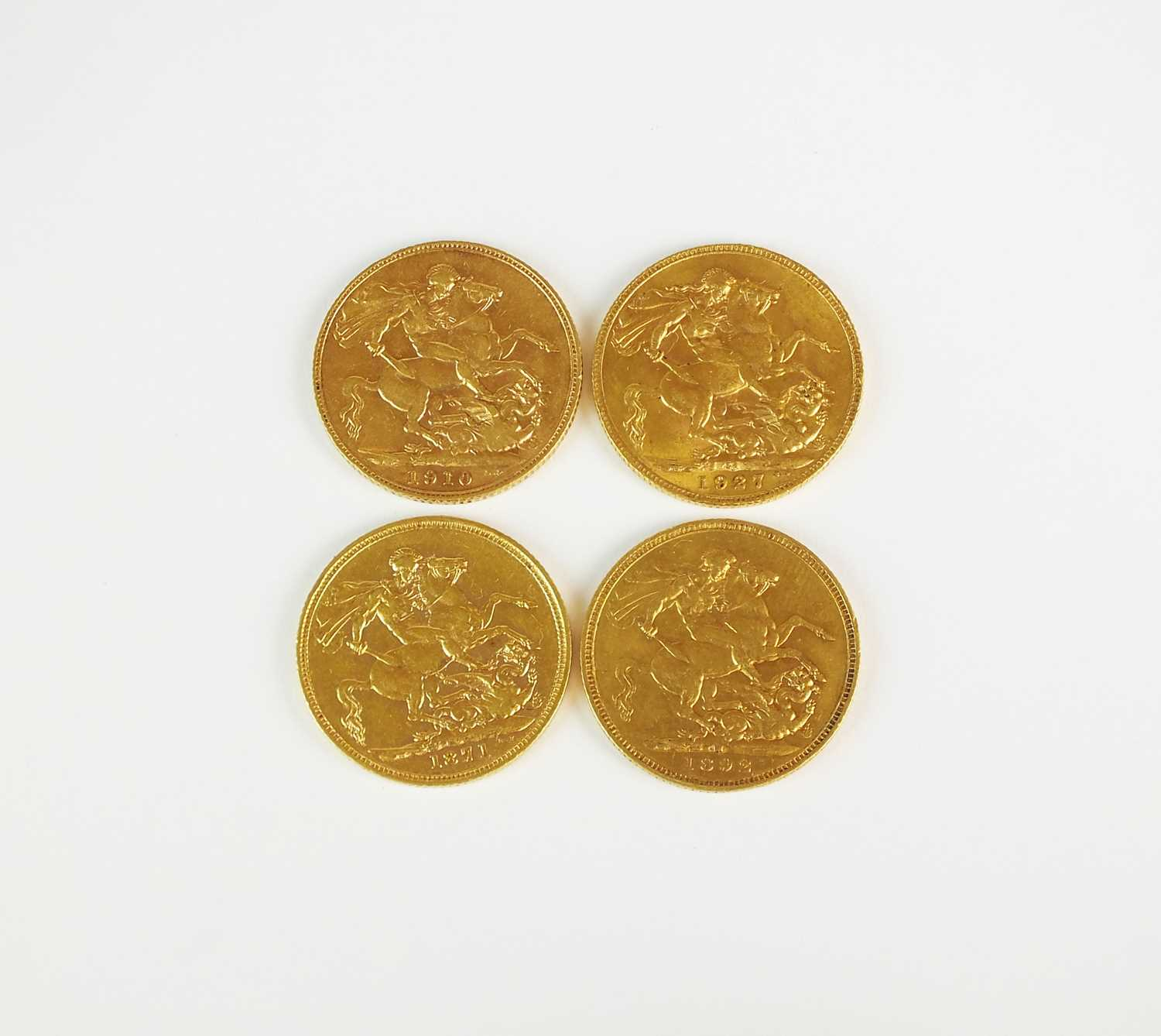 Four sovereigns