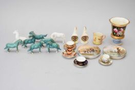 A group of English and Chinese ceramics
