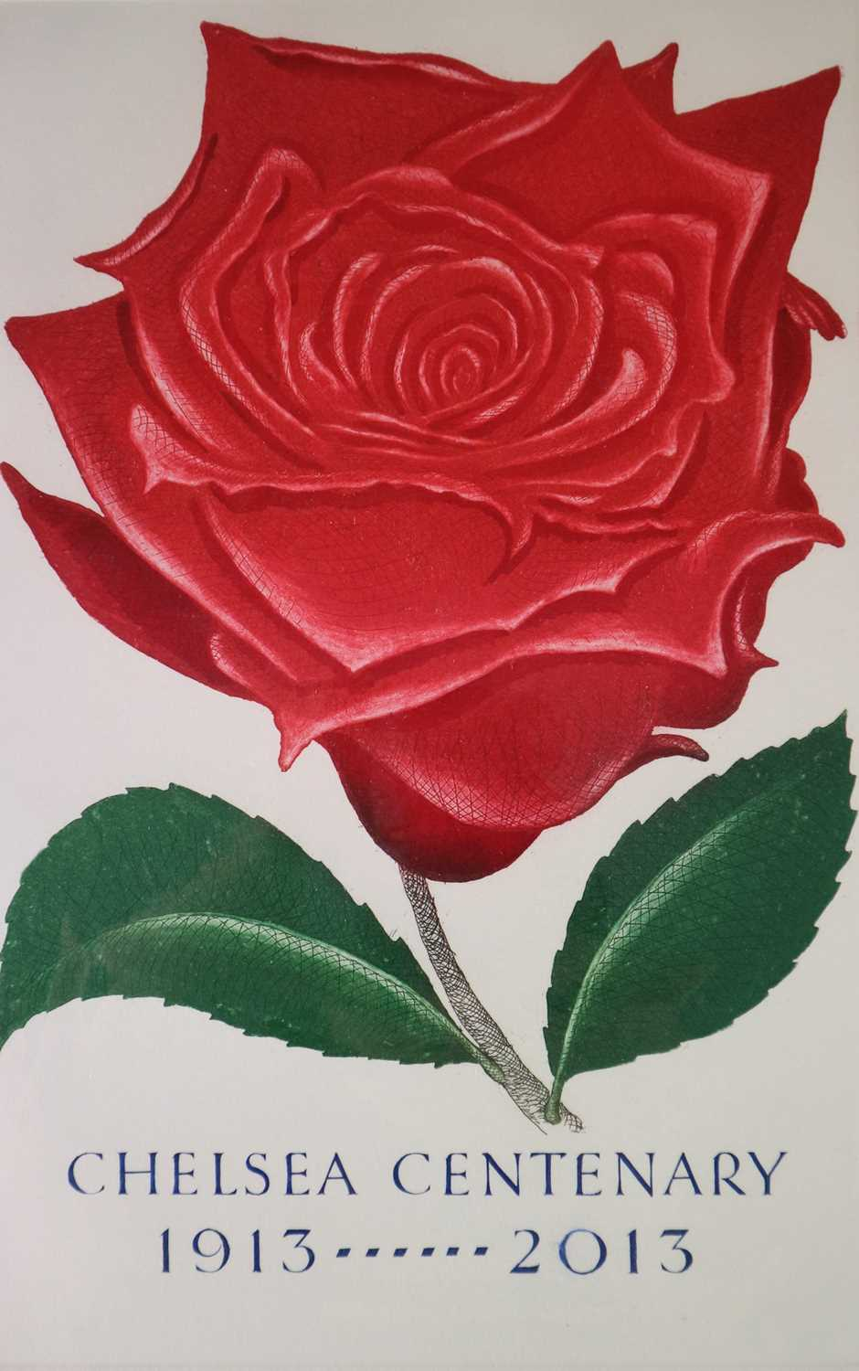 Bryan Poole (20th-21st Century) Rosa Pride of England plus two further works