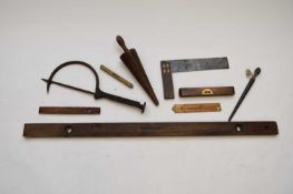 A 19th/20th century treen triblet
