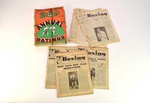 BOXING NEWS, 1947 - 1965
