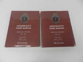 STOPFORD, T P, Admiralty Ships Badges