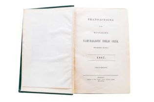 WOOLHOPE CLUB, Transactions of the Woolhope Naturalist's Field Club, 1852-1920