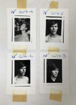Edward Bell (British Contemporary) Scary Monsters Photoshoot Contact Sheet