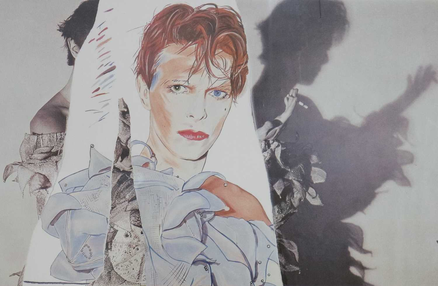 Edward Bell (British Contemporary) Fly Poster for Scary Monsters Album - Image 3 of 3