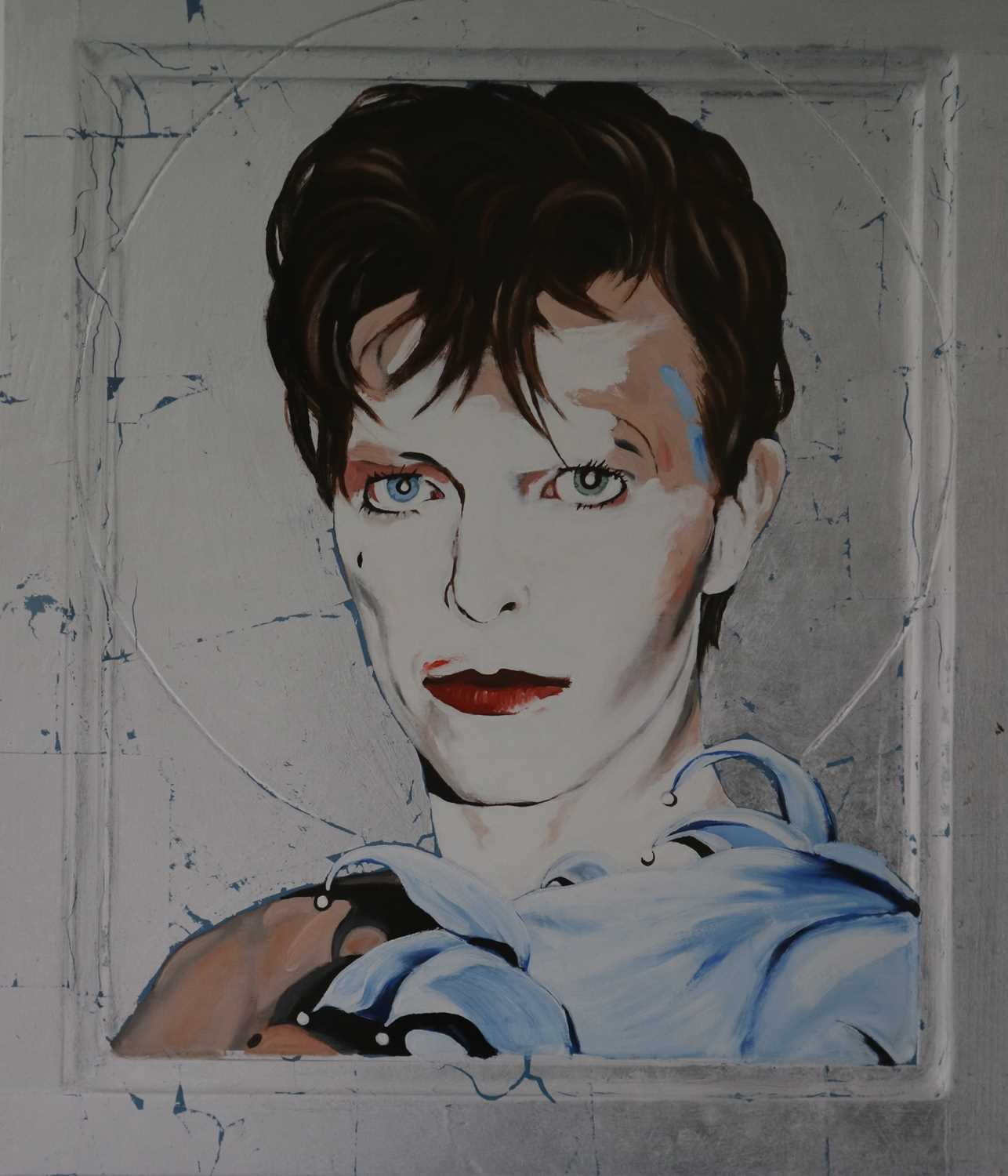 Edward Bell (British Contemporary) Scary Monsters Icon Print