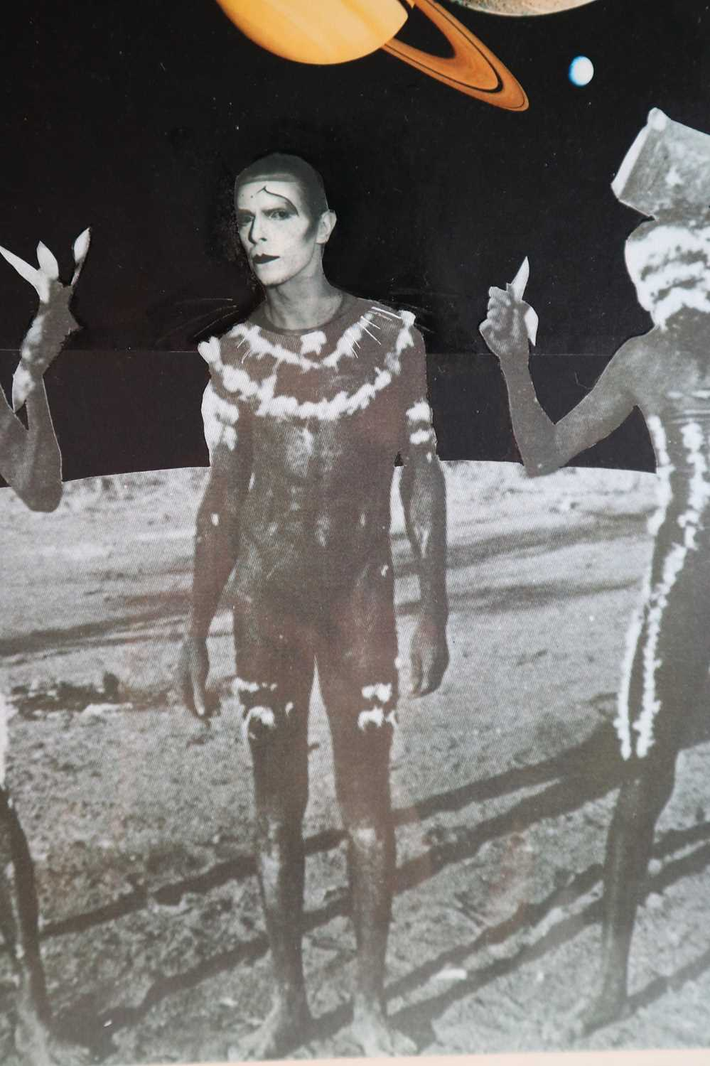 Edward Bell (British Contemporary) David Bowie Colour Montage - Image 3 of 9