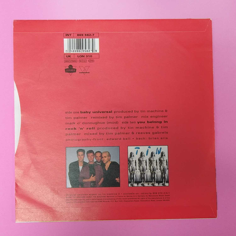 "Tin Machine Baby Universal 7"" single - Image 2 of 2"