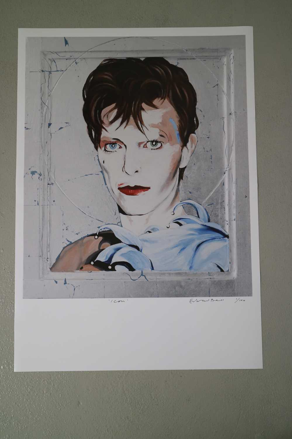 Edward Bell (British Contemporary) Scary Monsters Icon Print - Image 3 of 5