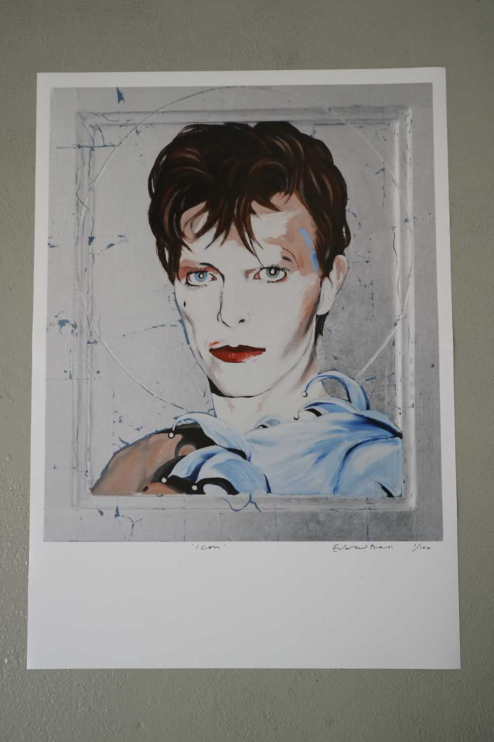 Edward Bell (British Contemporary) Scary Monsters Icon - Image 2 of 3