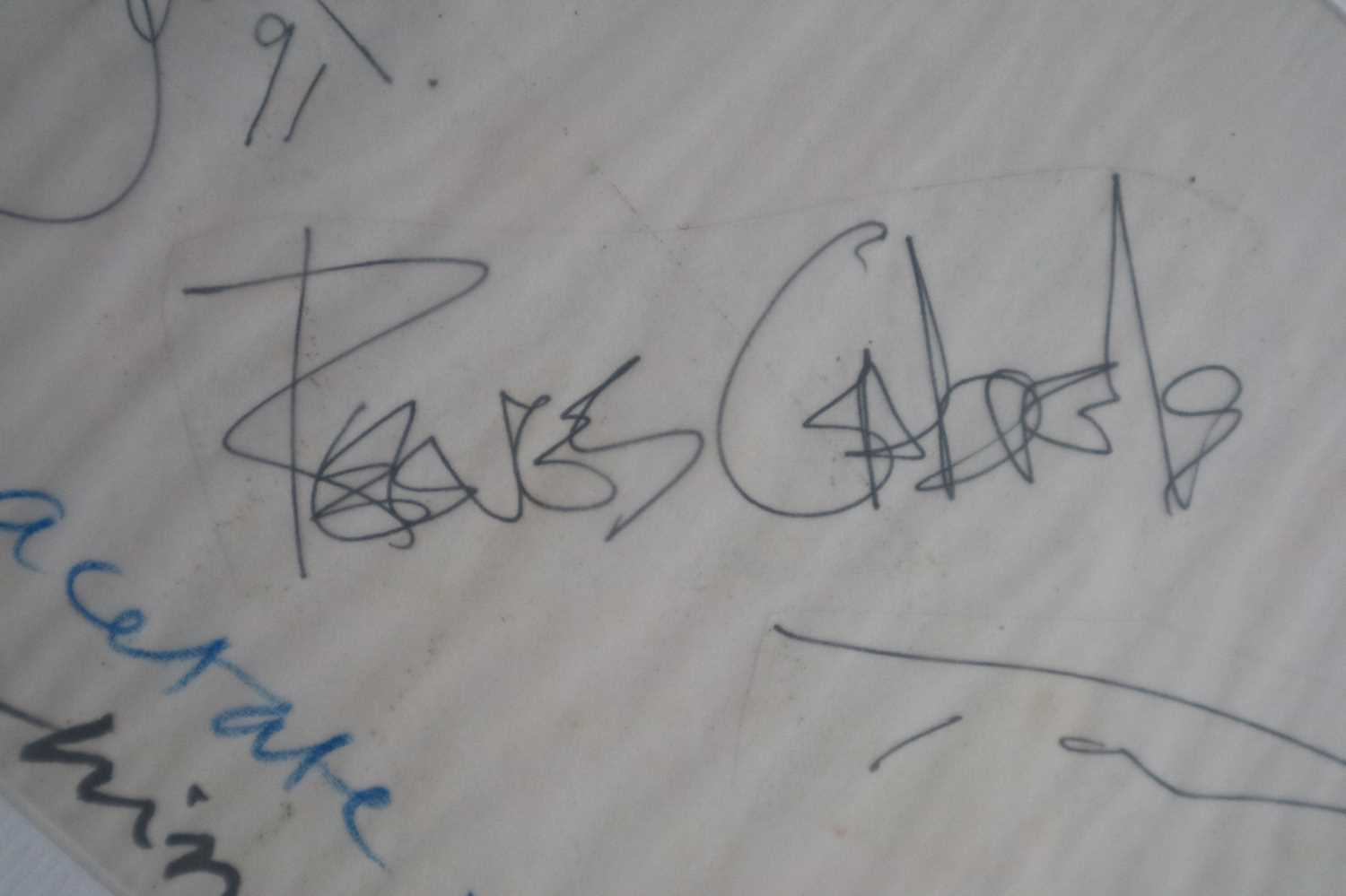 David Bowie and Tin Machine Band Signatures - Image 5 of 8