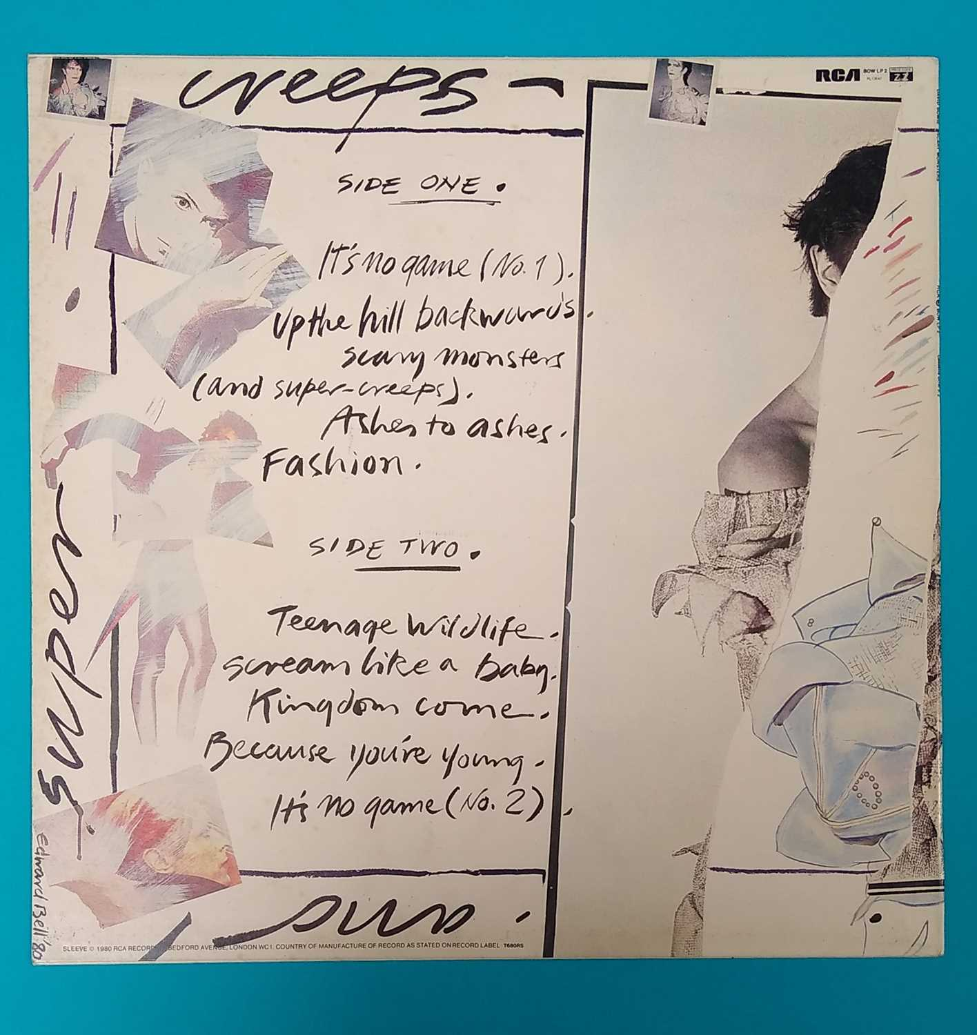 Edward Bell (British Contemporary) Signed Album Sleeves - Image 4 of 10