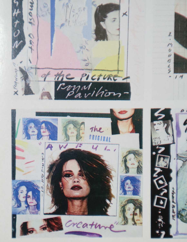Edward Bell (British Contemporary) Postcard of Album Ideas - Image 3 of 4