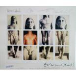 Edward Bell (British Contemporary) Tin Machine II Signed Artwork Postcard