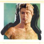 Edward Bell (British Contemporary) David Bowie Statue Montage