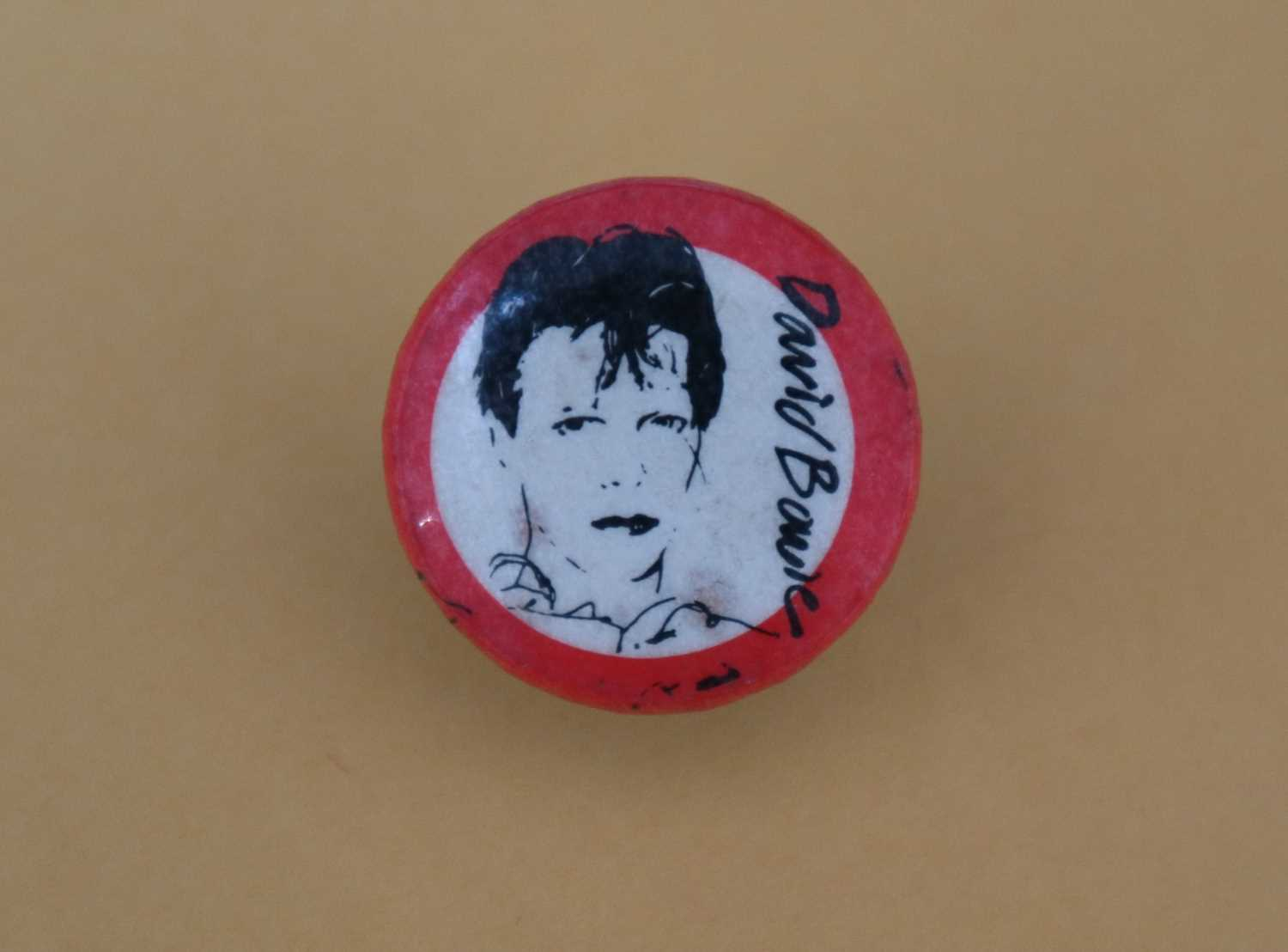 David Bowie Scary Monsters Pin Button Badge - Image 4 of 5