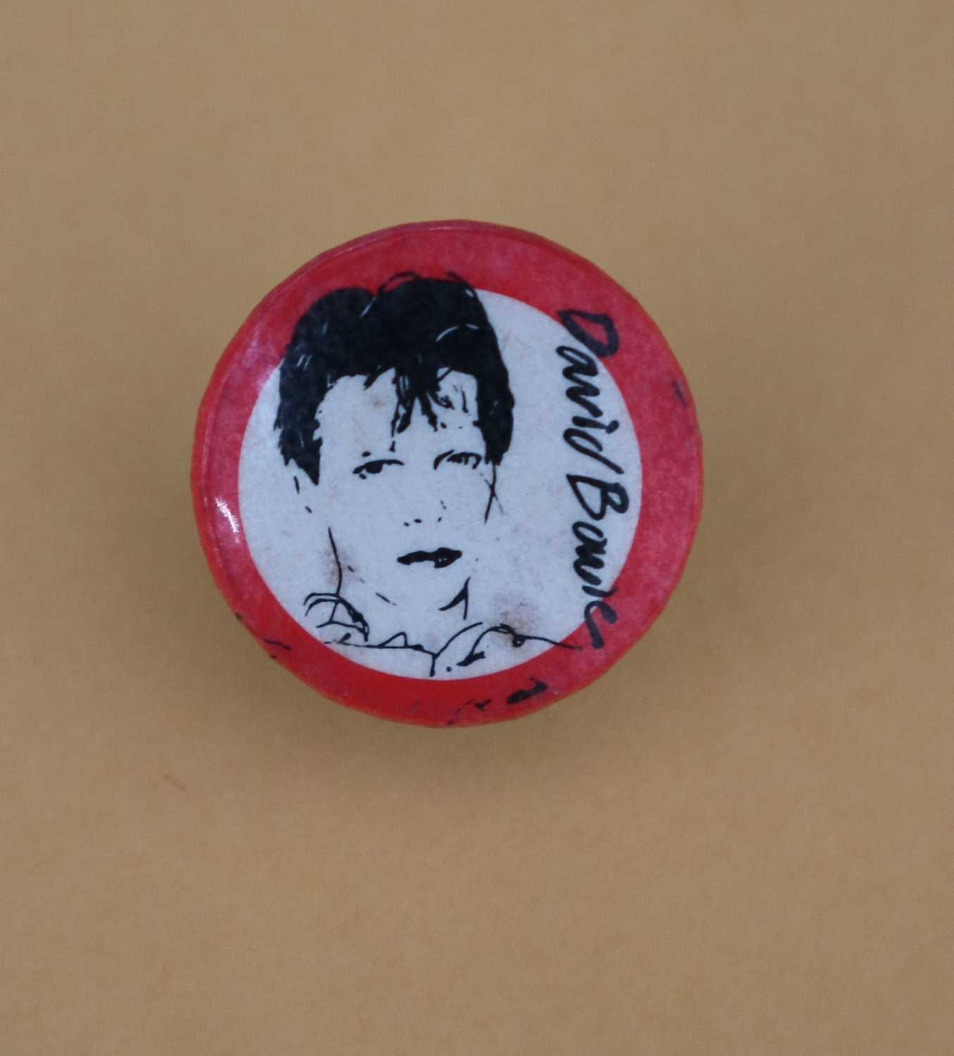 David Bowie Scary Monsters Pin Button Badge
