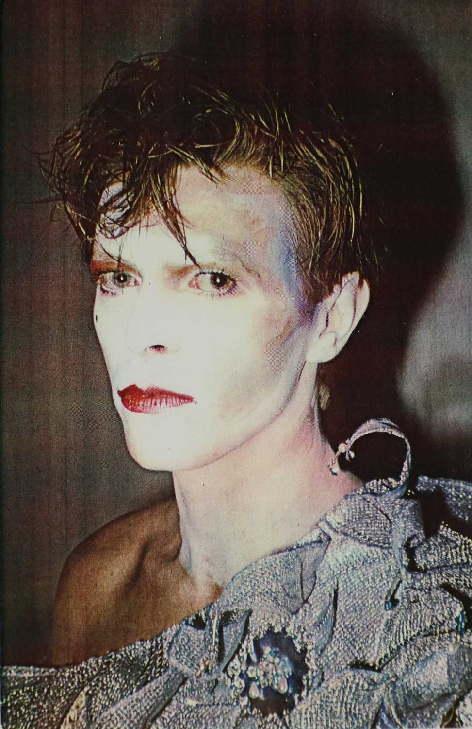 Edward Bell (British Contemporary) Colour Print Bowie in Scary Monsters Makeup