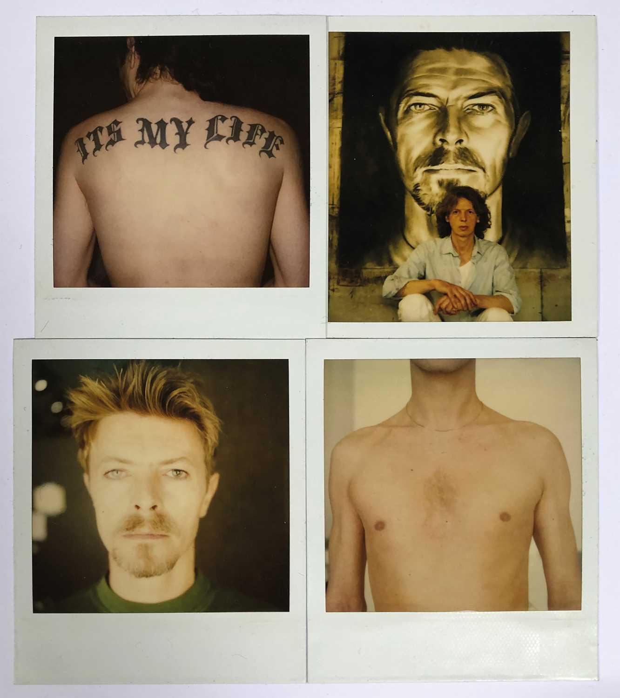 Edward Bell (British Contemporary) Polaroids from Tin Machine Photoshoot - Image 8 of 8