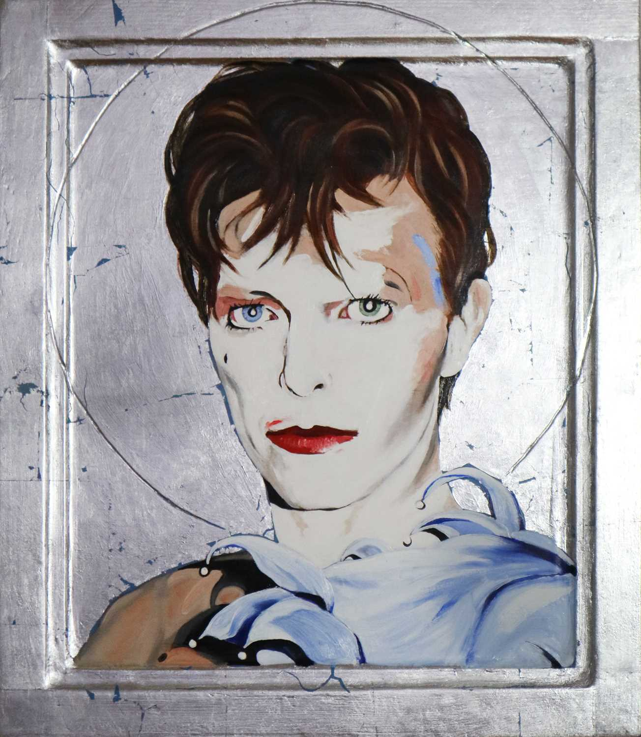 Edward Bell (British Contemporary) Scary Monsters Era Icon - Image 2 of 5