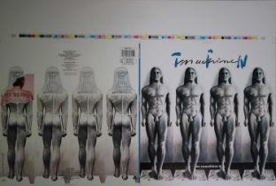 Edward Bell (British Contemporary) Tin Machine Album Design Proof