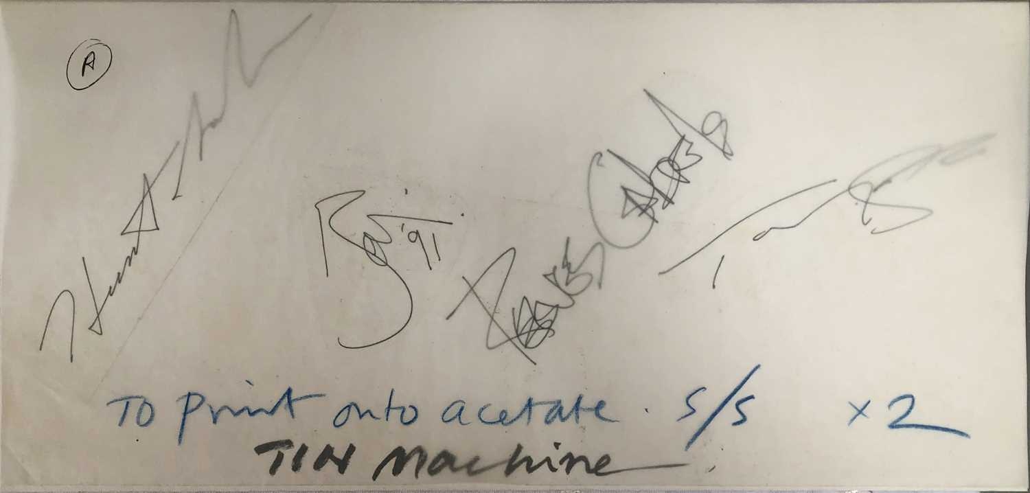 David Bowie and Tin Machine Band Signatures - Image 7 of 8
