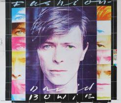 Edward Bell (British Contemporary) David Bowie Fashion Single Design