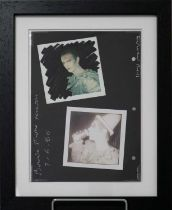 Edward Bell (British Contemporary) Double Sided Photo Session