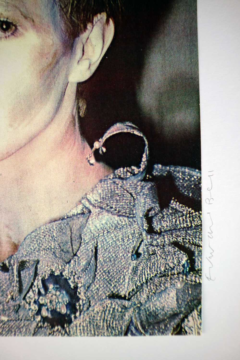 Edward Bell (British Contemporary) Colour Print Bowie in Scary Monsters Makeup - Image 6 of 6