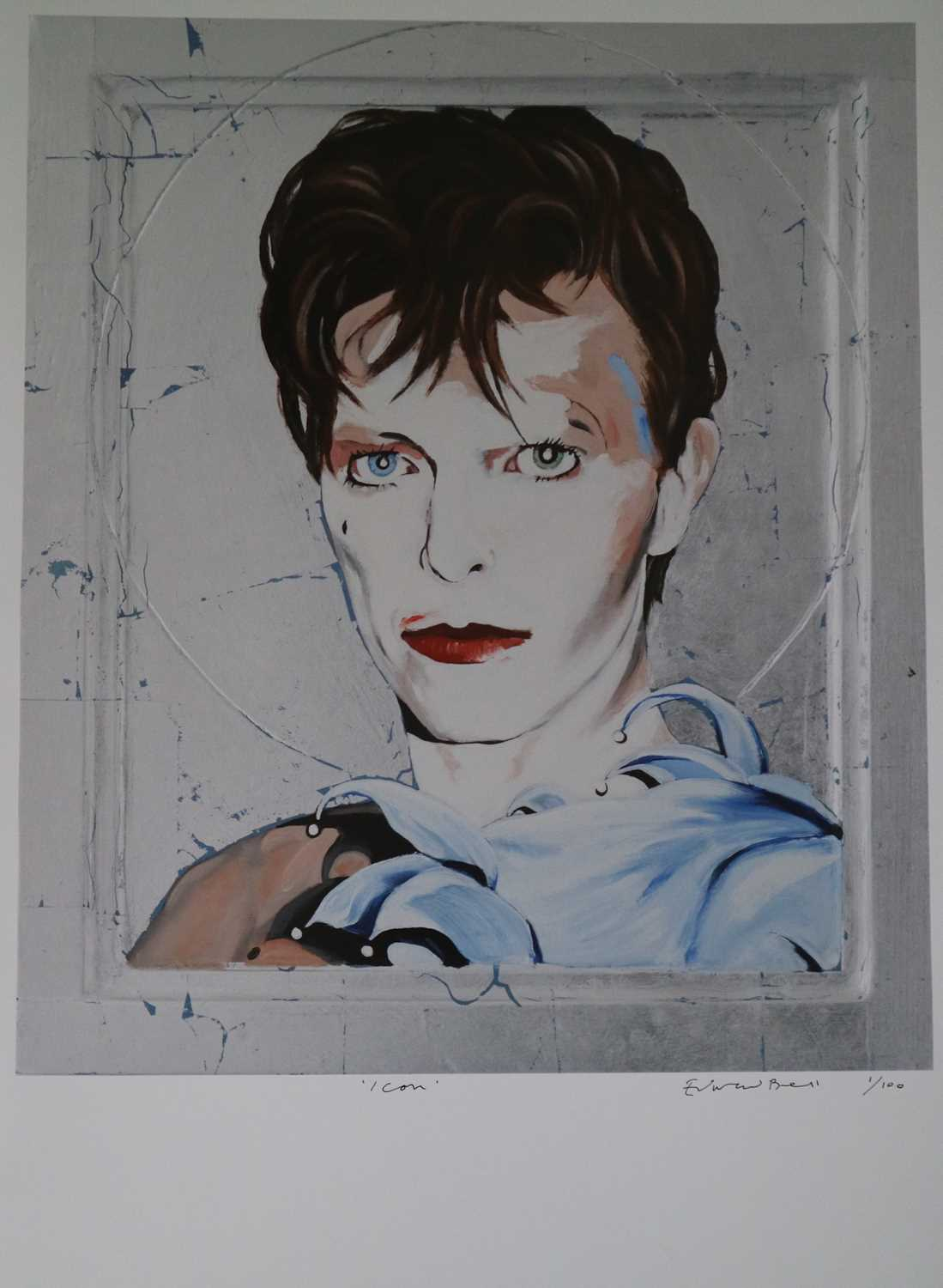 Edward Bell (British Contemporary) Scary Monsters Icon Print - Image 2 of 5