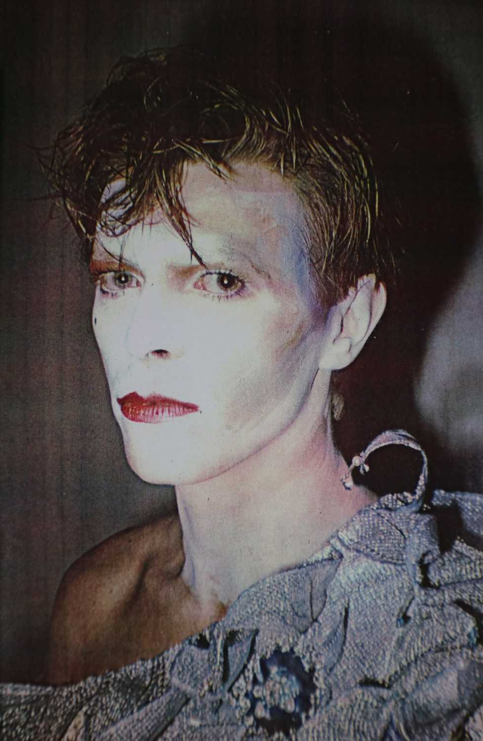 Edward Bell (British Contemporary) Colour Print Bowie in Scary Monsters Makeup - Image 4 of 6