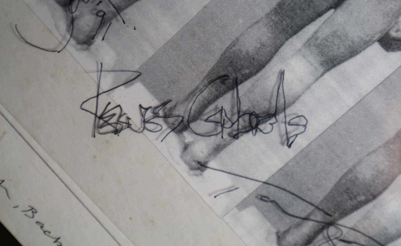 Edward Bell (British Contemporary) Tin Machine Album Cover Verso Design - Image 4 of 6