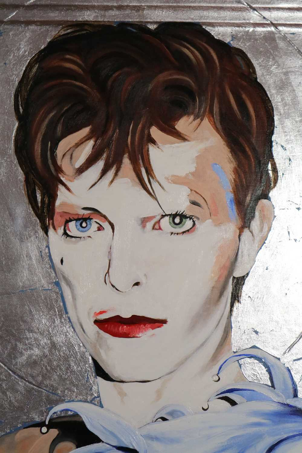 Edward Bell (British Contemporary) Scary Monsters Era Icon - Image 3 of 5