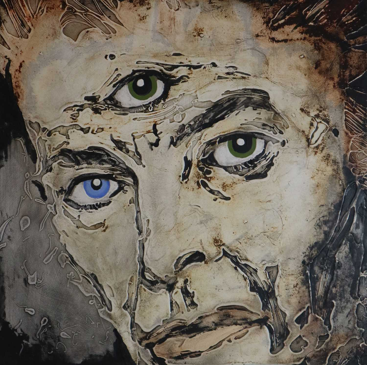 Edward Bell (British Contemporary) David Bowie with a Third Eye - Image 5 of 6