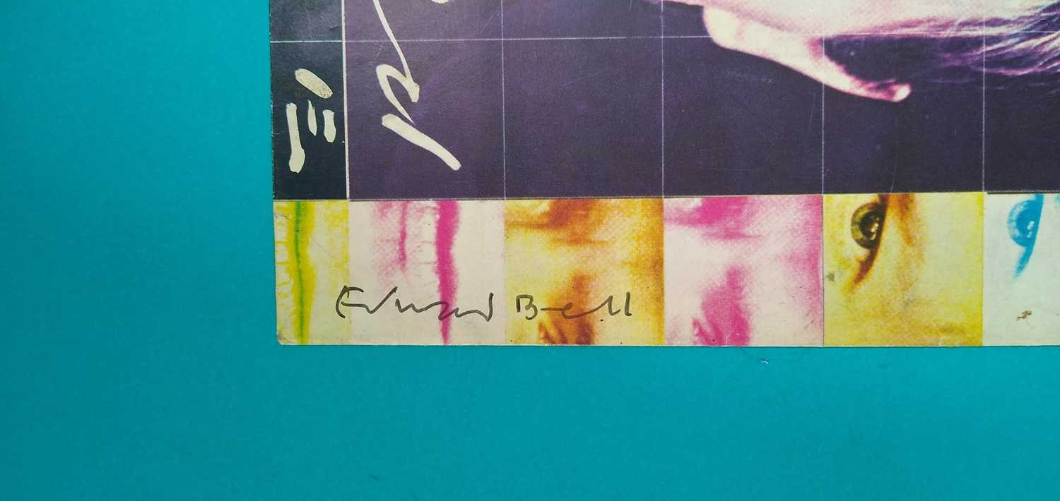 Edward Bell (British Contemporary) Signed Album Sleeves - Image 10 of 10