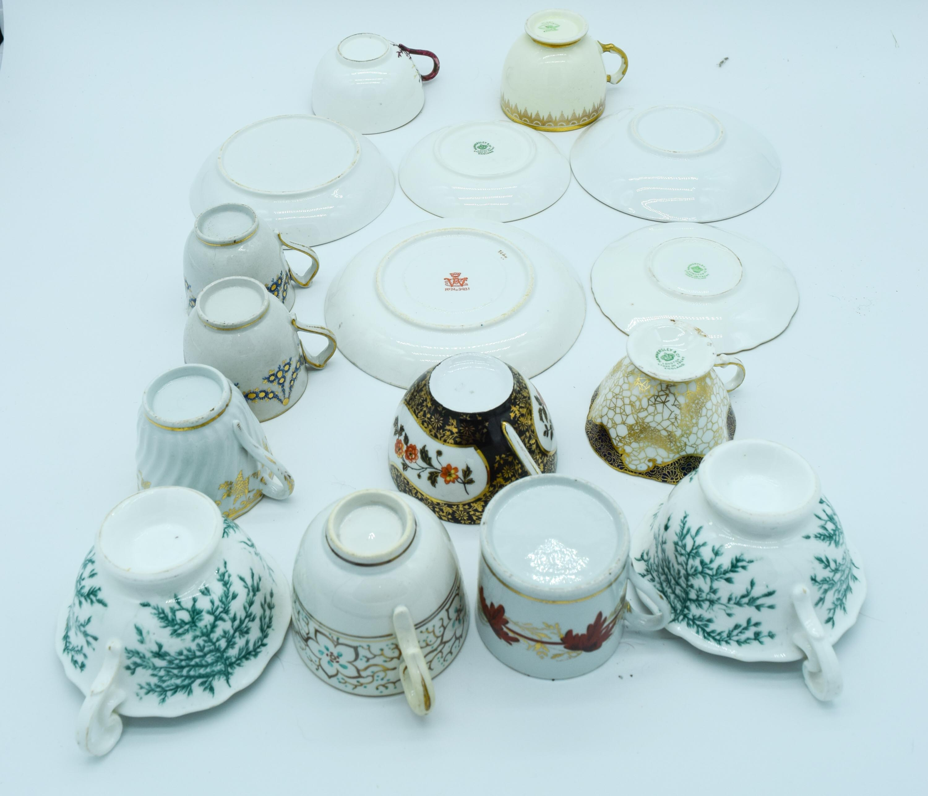 Collection of Tea and coffee cups Qty. - Image 3 of 5