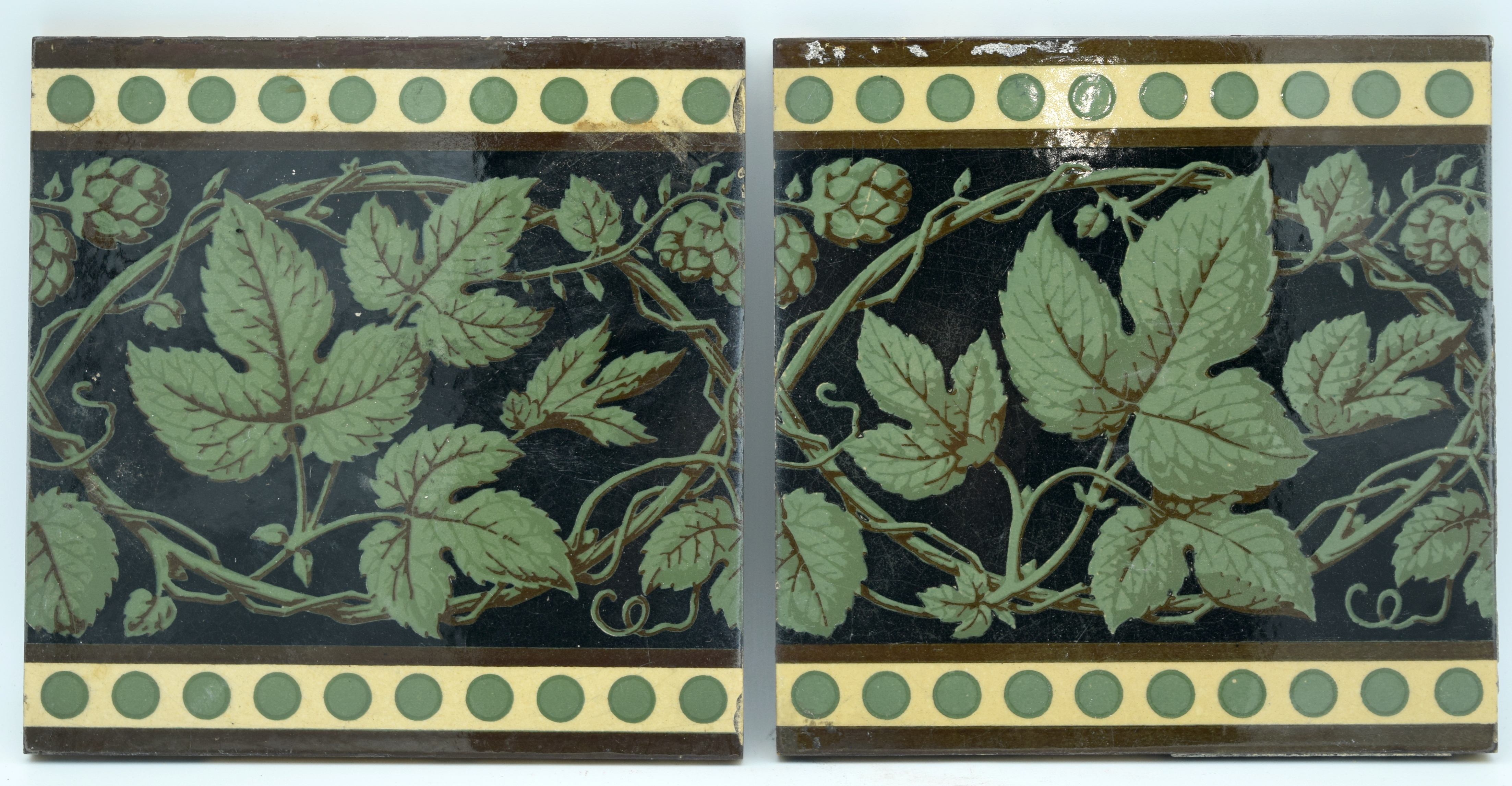 A Collection of Minton China works tiles 20.5 x 20.5 cm (21) - Image 2 of 2