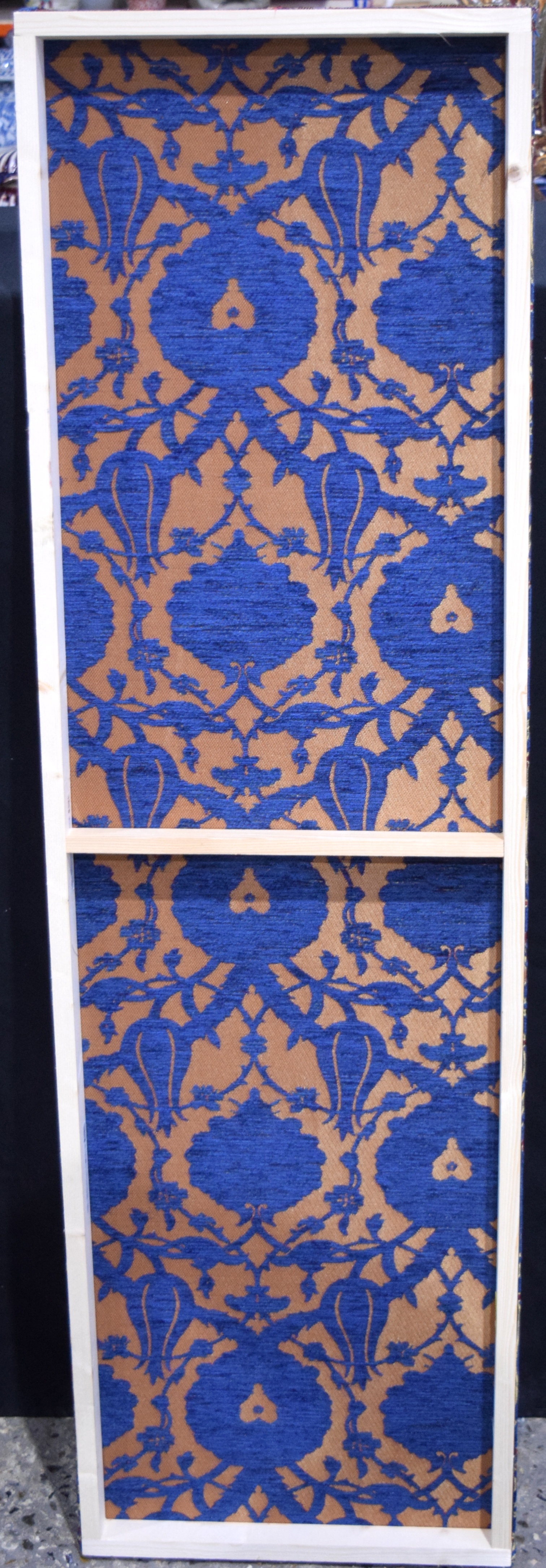 A large Turkish fabric panel 40 x 139cm . - Image 3 of 3